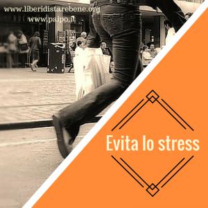 Evita lo stress